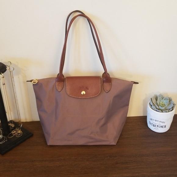 Longchamp Handbags - Longchamp Small Le Pliage Tote (Praline) c8b06ad4b6bc9